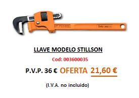 LLAVE MODELO STILLSON
