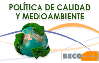 Política de calidad y medioambiente BECO